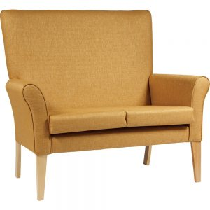 Cambourne High Back 2 Seater Care Home Chair