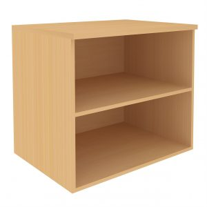 Open Front Unit With 1 Shelf