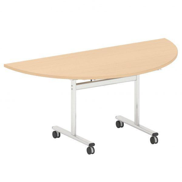 Flip Top Half Round Meeting Table - W1600-0