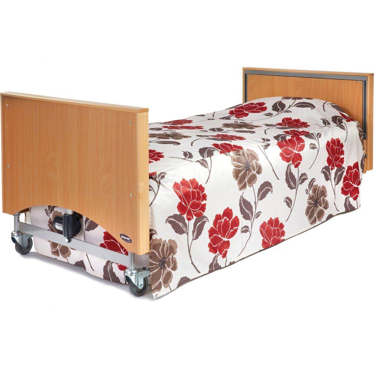 Box Fitted Bedspread Split Corners 220g Printed Fabric