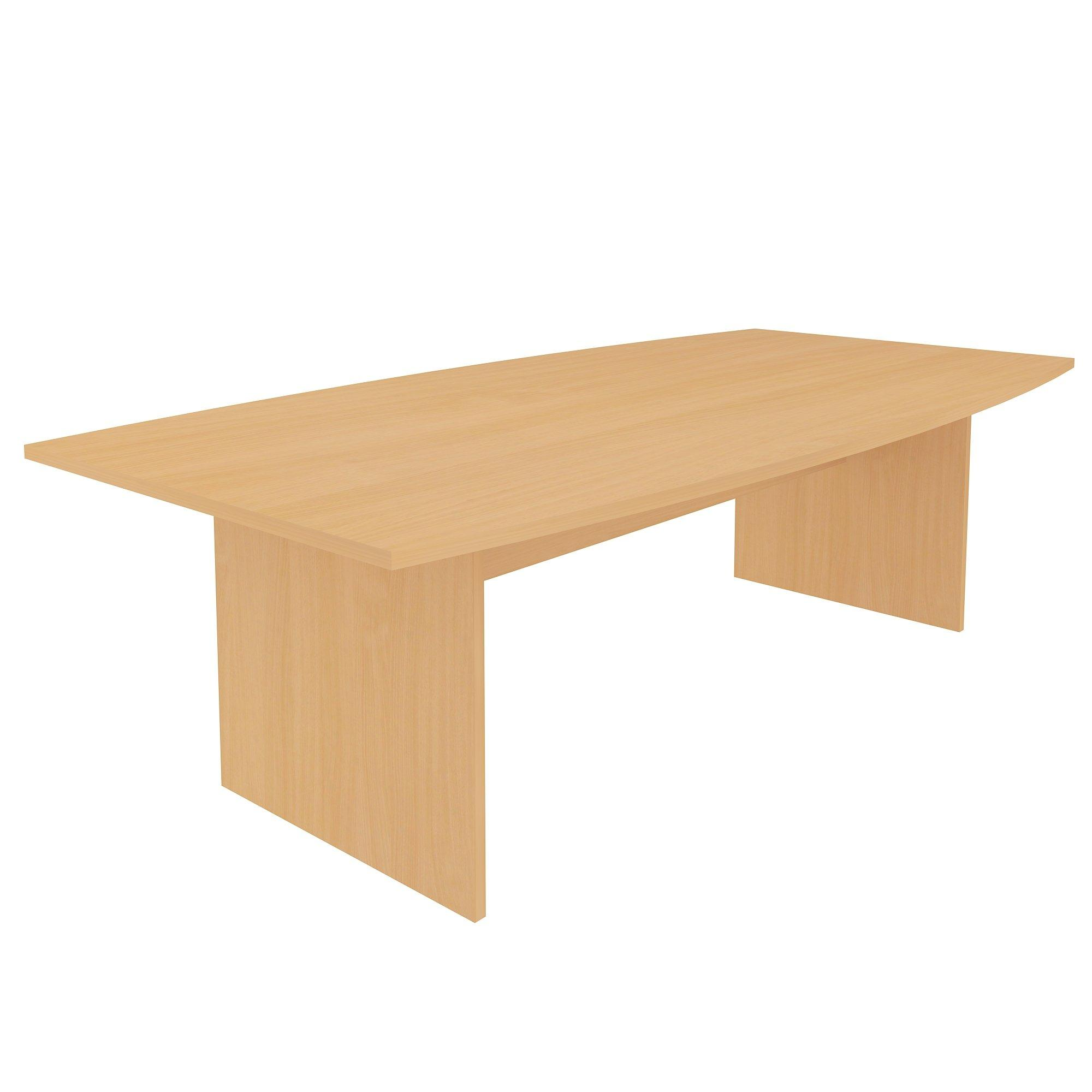 Barrel Top Panel Leg Meeting Table - L2400-0