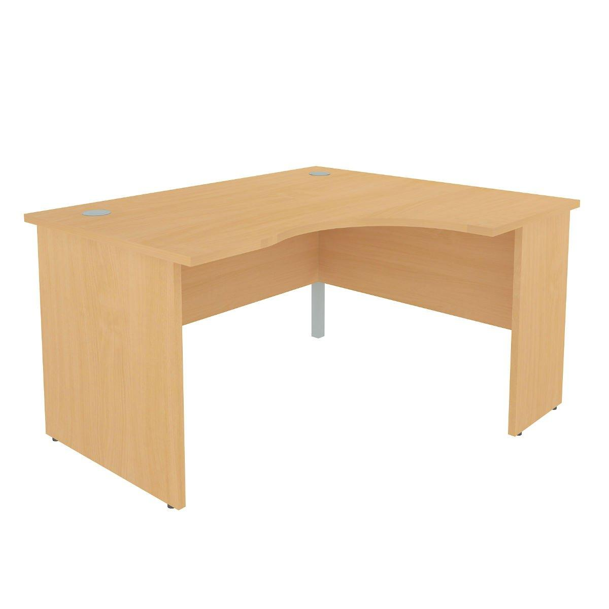 Right Hand Crescent Desk