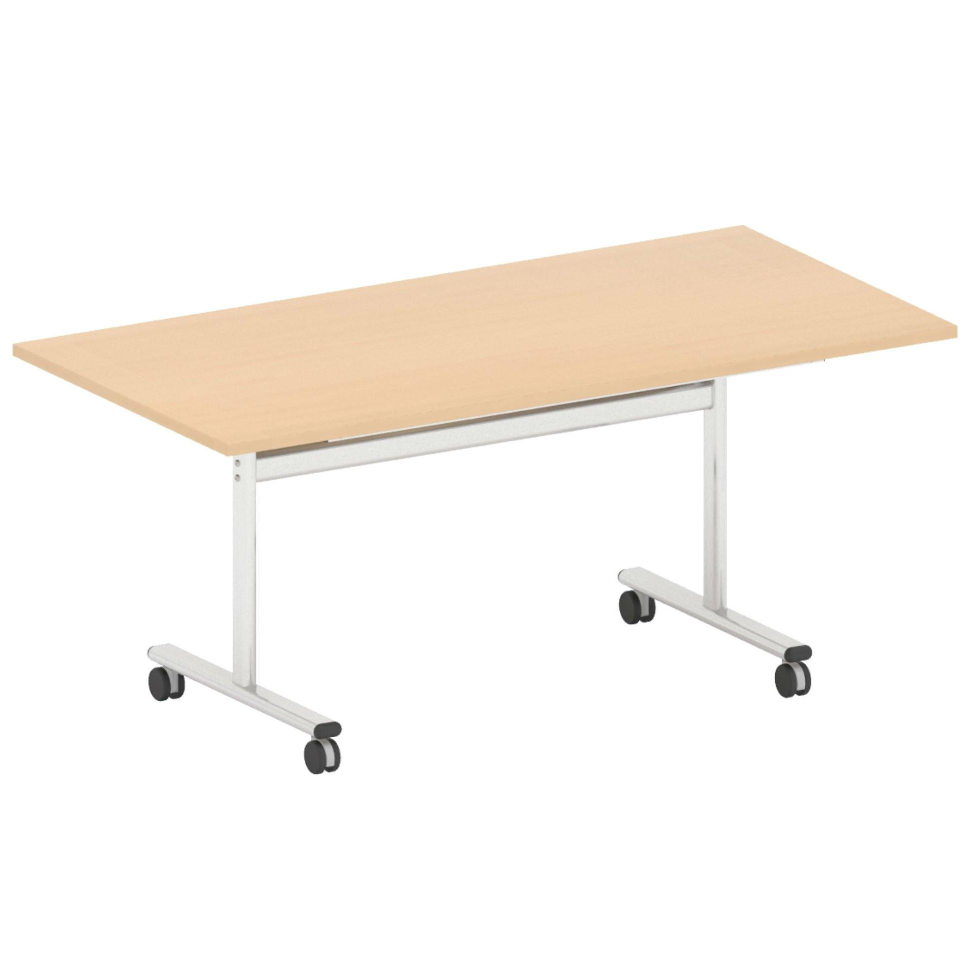 Flip Top Rectangular Meeting Table