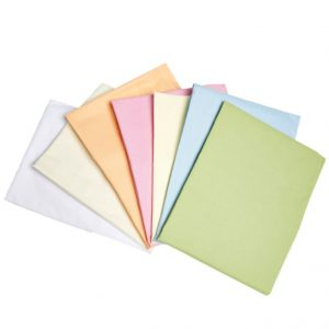 FR Flat Sheet - Pastel Colours