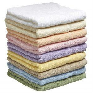 Hand Towel - Pastel Colours