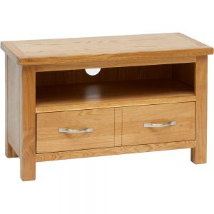Parkhouse Small TV Unit With Two Drawers