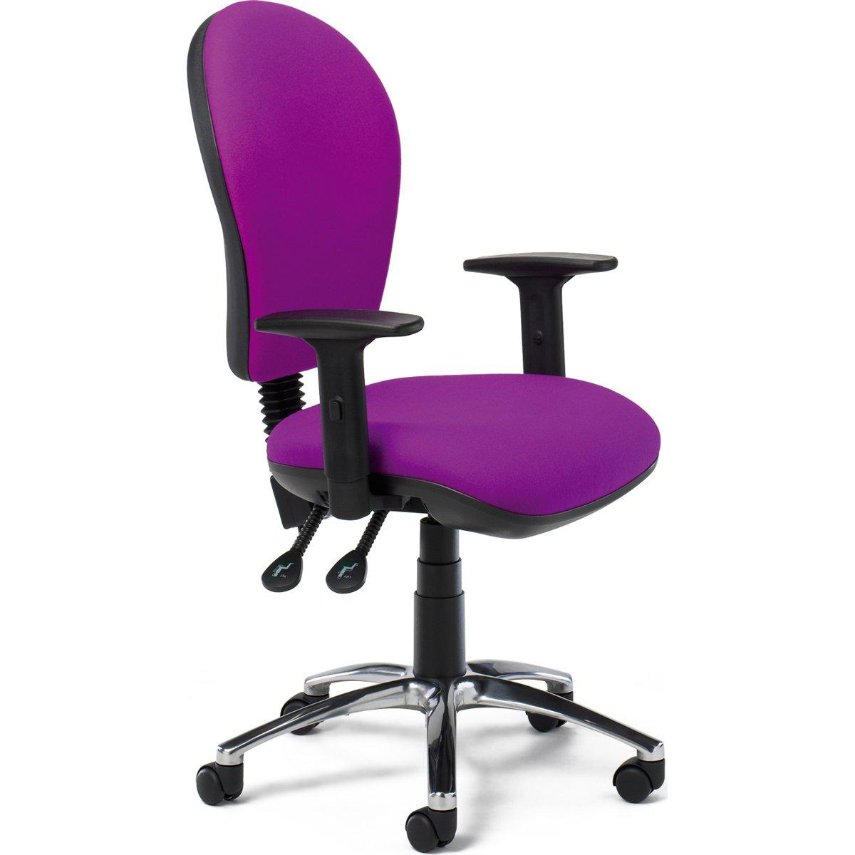 SCT516/22ADJ Operators Chair with Adjustable Arms