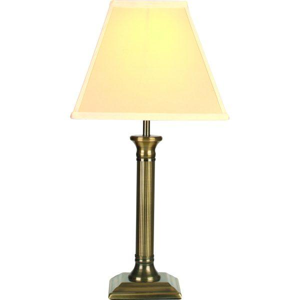 Windmere Table Lamp - Antique Brass Base with Birche Shade-0
