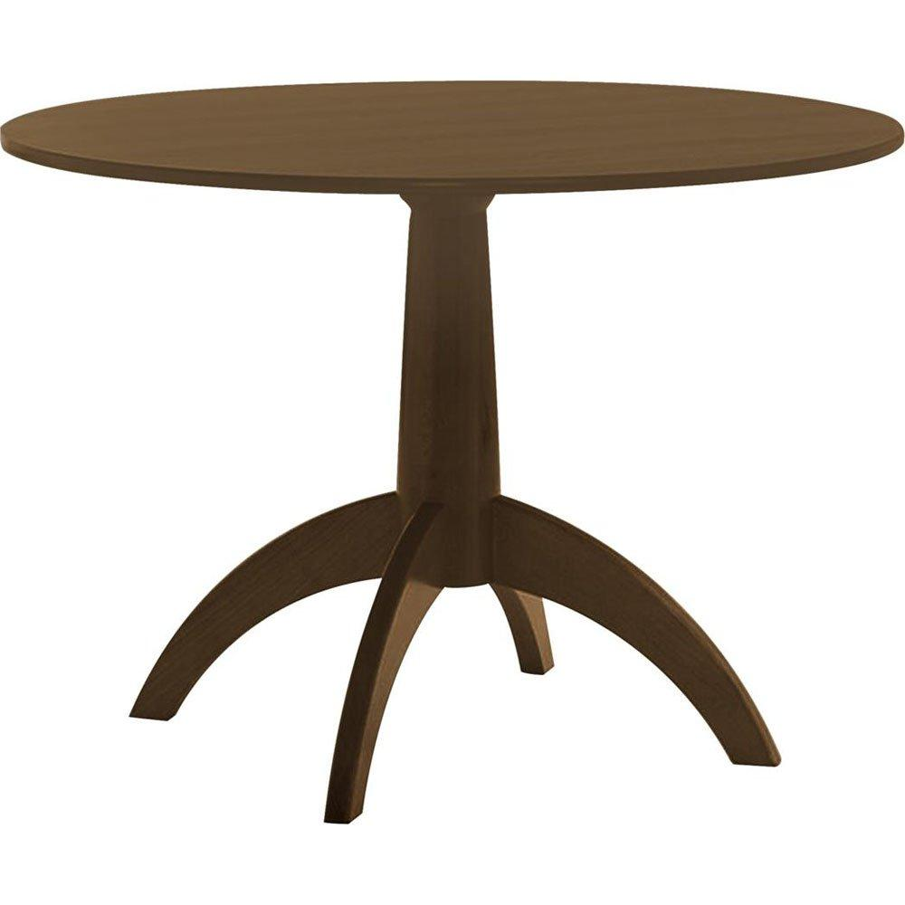 Livonia Pedestal Table with Contemporary Leg