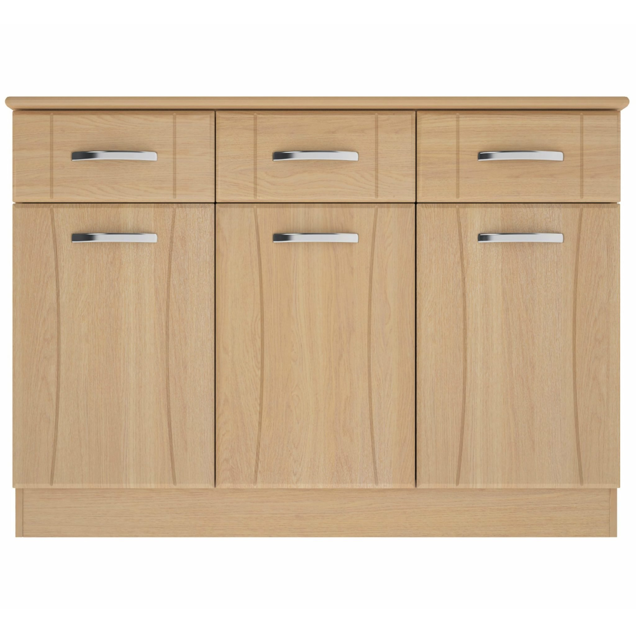 Nova Large Sideboard With 3 Doors & 3 Drawers