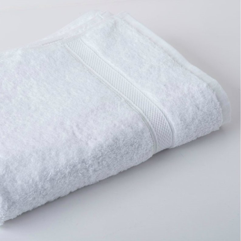 Luxury White Face Cloth