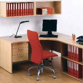 Desk Height Storage