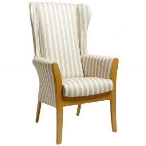Pembroke High Back Care Home Chair (with wings)-1102