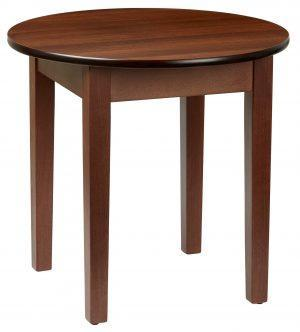 Linton Circular Occasional Table Walnut