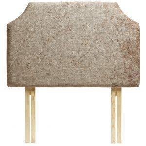 Chalbury Upholstered Shaped Headboard - Darcy Fawn