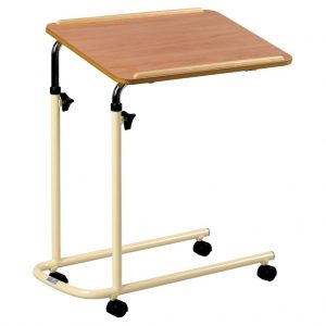 Marlin Overbed Table with castors