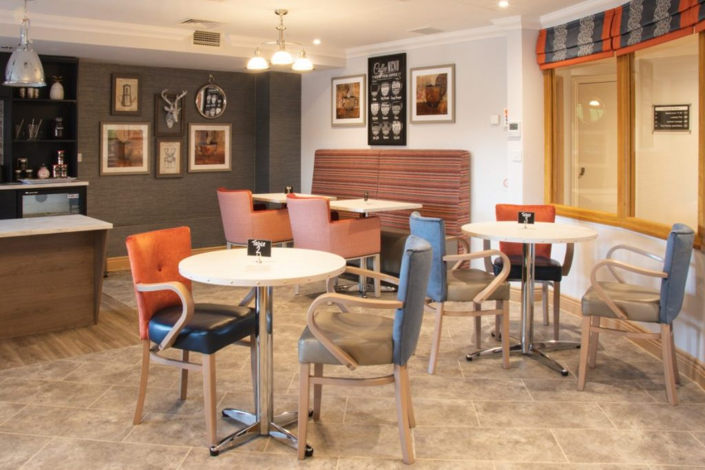 Care Home Dining Room