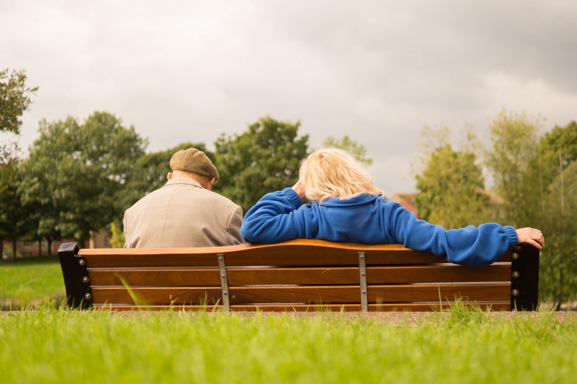 What are the benefits of being outside for care home residents?
