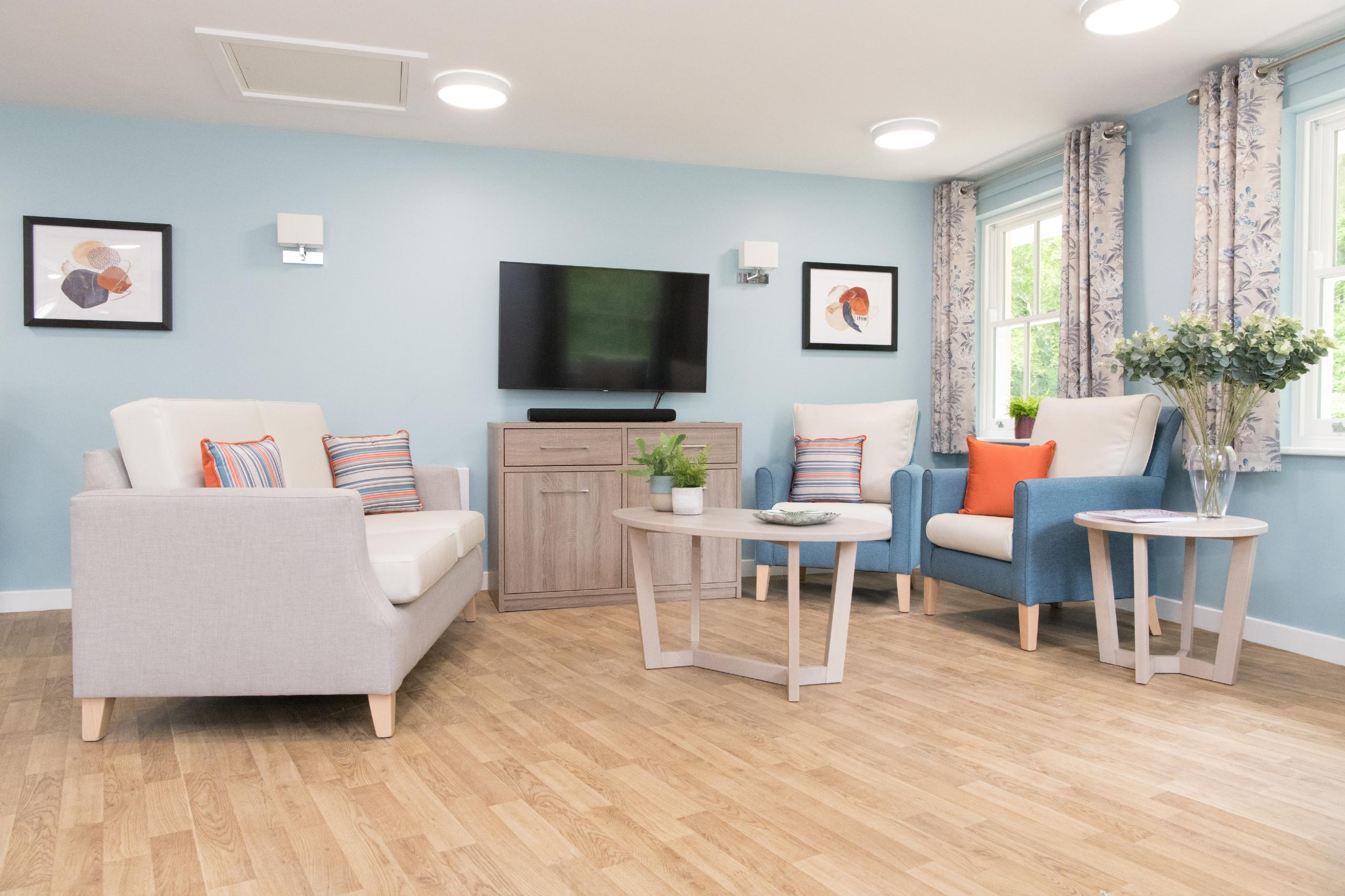 How can your furniture assist with infection control in care homes?